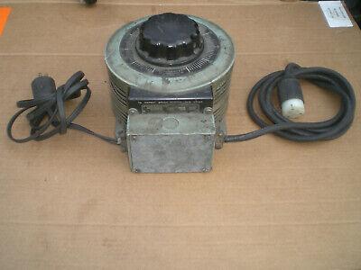 Superior Powerstat Variac 8 Amp 0-120v