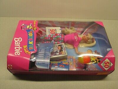 Sealed I'm a Toys R Us Kid 50th Anniversary Collectors Barbie Doll Blonde Mattel