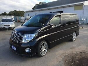 """2008 Nissan Elgrand 8 Seater """"FREE 1 YEAR WARRANTY"""" Welshpool Canning Area Preview"""