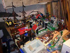 Plusieurs sets Lego vintage des années 90