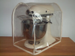 KITCHENAID & Kenwood KMIX food Mixer COVER with CREAM edge