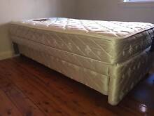 king single base with trundle bed with 2 mattresses West Ryde Ryde Area Preview