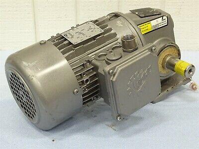 Nord 71l4-cus Electric Motor 3ph 0.50hp W1sm50-71 L4 Cus Gear Reducer 251