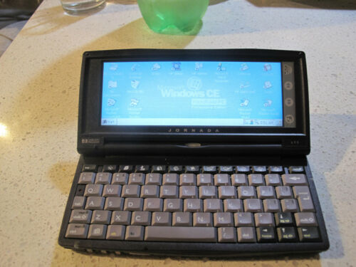 HP Jornada 690 Handheld Windows CE Computer Tested Working