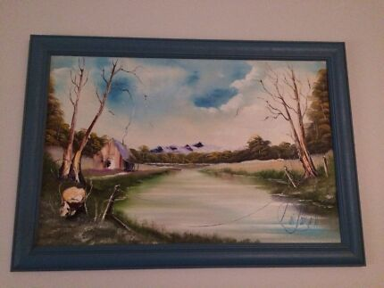 Painting Rathmines Lake Macquarie Area Preview