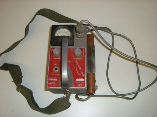 Vintage Fisher Model T Geiger Counter w/Probe Free Shipping