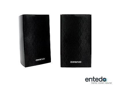 2 Sat Lautsprecher vom Onkyo SKS-HT528 SKR-528 Heimkino Speaker Boxen NEU
