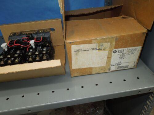 Allen Bradley 520E-B0D Size 1 Open Type Multi-Speed Starter 120V Coil Surplus