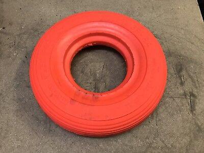 Reifen für Schubkarre Sackkarre Bollerwagen 4.00 4.80 8 Heuwagen Orange