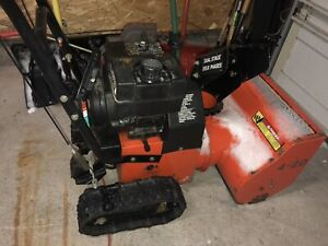 20 inch snow blower for repair.