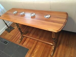 Antique side board table