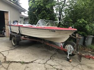 Boat with trailer