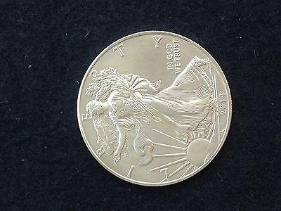2014 American Eagle 1 oz. Silver Coin BU