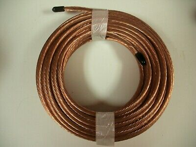 6 Gauge Awg Bare Stranded Grounding Wire Cable 50 Feet