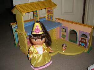 Dora The Explorer Talking Doll House/Magic Hair Doll/Mini Doll Dingley Village Kingston Area Preview