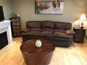 Electric Double Reclining Couch