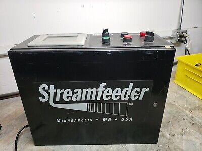 Used Streamfeeder Feednet Collator Control System 115vac