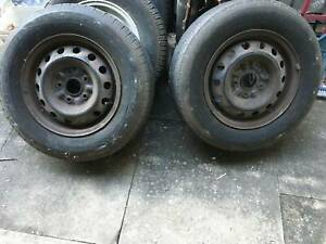 CAMRY WHEELS TOYOTA STANDARD TWO RIMS AND TYRES