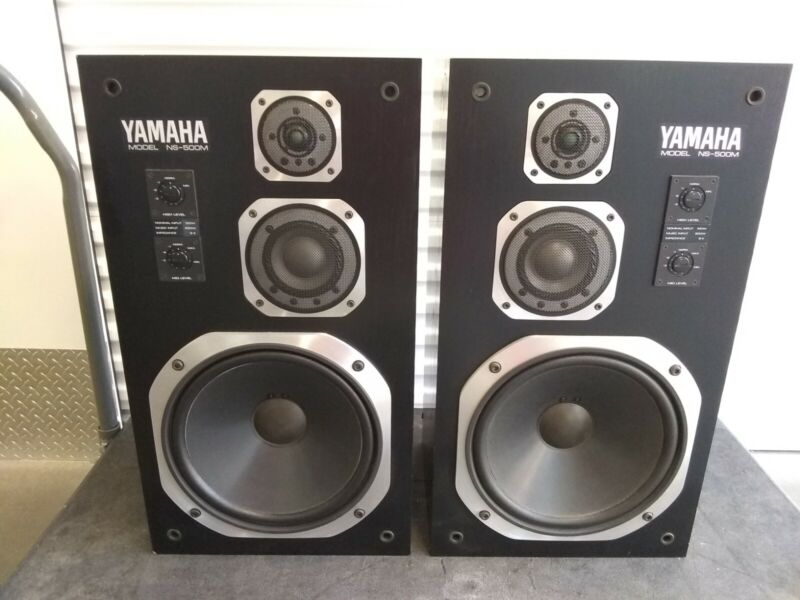 Pair Yamaha NS-500M Speakers