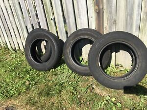 Four Used P175/70R14 Tires