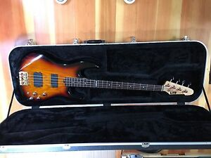 ESP bass with badass ii bridge