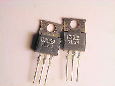 2sc2029 Original Fujitsu Rf Transistor 2 Pcs