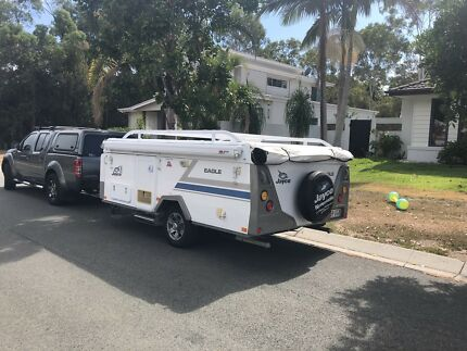 Price reduction!! Jayco Eagle camper trailer - near new condition Cleveland Redland Area Preview