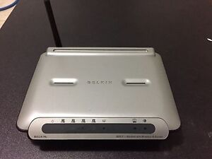 Belkin F5D7633AU4A Modem with wireless G Router Stafford Brisbane North West Preview
