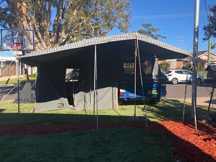 Cameron Camper Trailer East Corrimal Wollongong Area Preview