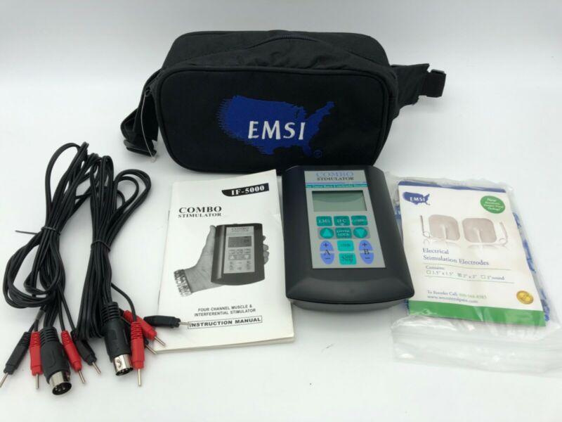 EMSI IF-5000 Four Channel Muscle Stimulator Combo kit