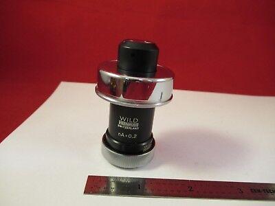 Wild Heerbrugg Swiss Rare Mikroskop Condenser Microscope Part Optics 5-a-89