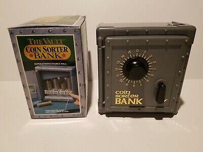The Vault Coin Sorter Combination Kids Bank