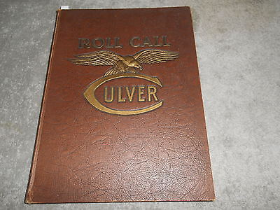 1945 - 46  Culver Military Academy  - The Roll Call  George M. Steinbrenner lll