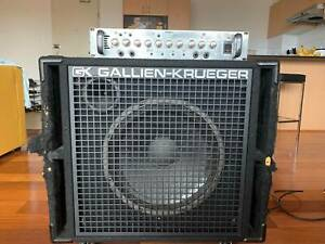 400w Bass Amplifier Head and Cabinet for sale