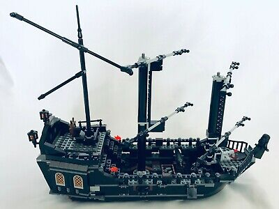 LEGO 4184 Pirates of the Caribbean Black Pearl Incomplete