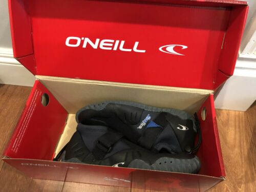 7 ONEILL Mens Superfreak Tropical 2MM RT Booties Wetsuit Accessories Black