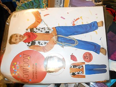 Kostüm COWBOY für Jungen 4-6 Jahre Gr. 110 116 NEU - Cowboy Kostüm Für Jungen