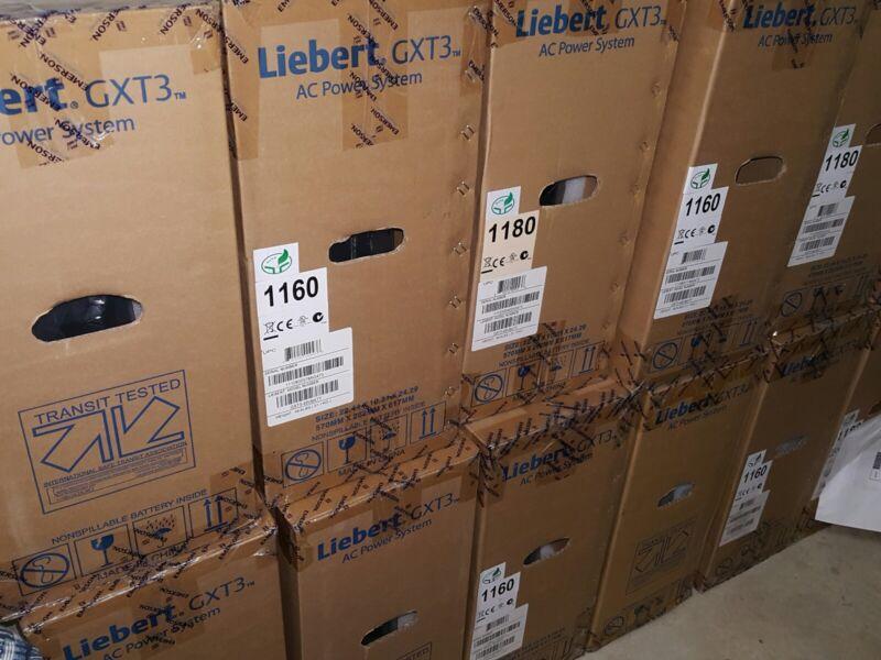 EMERSON LIEBERT GXT3-48VBATT External Battery Cabinet for GTX3 500-2000 NEW!!!