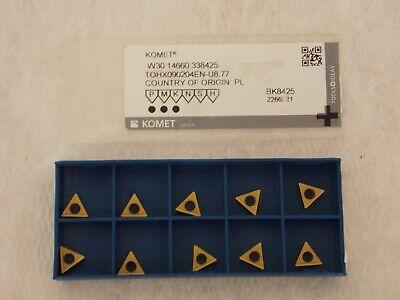 Komet Carbide Boring Insert W3014660338425 Qty 10 W3014660338425