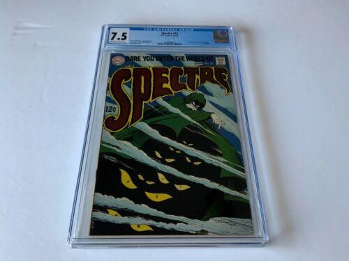 SPECTRE 10 CGC 7.5 COOL COVER DC COMICS 1969