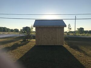 Custom build sheds
