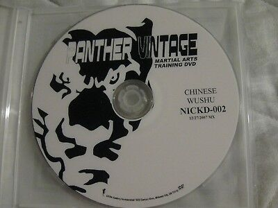 Panther Martial Arts - panther vintage martial arts dvd Training CHINESE WUSHU NICKD-002 12/27/2007 MX