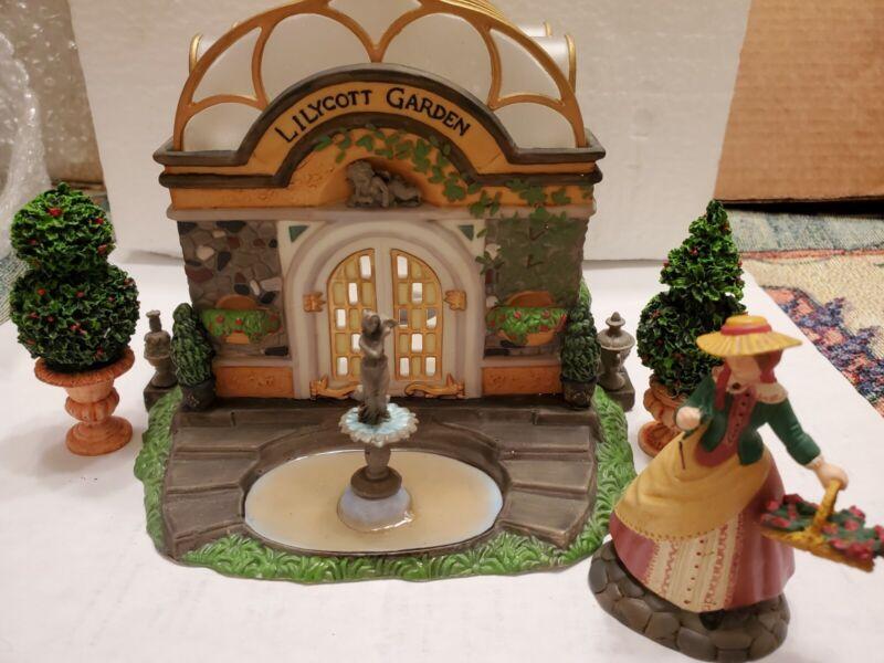 Dept. 56: Lilycott Garden Conservatory - Dickens Village - READ DESCRIPTION