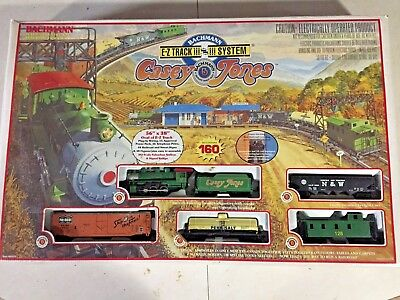 HO Bachmann Casey Jones Train Set 00617