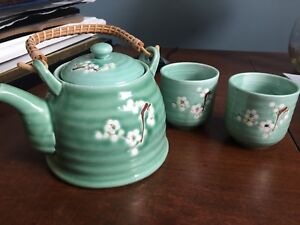 Teaopia tea set with 4 cups - New