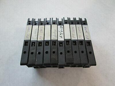 Lot of 10 Allen Bradley 1492-H Fuse Holders With Clear Indicator Light