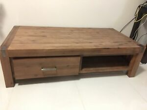 Super amart Silverwood coffee table with draw Caringbah Sutherland Area Preview