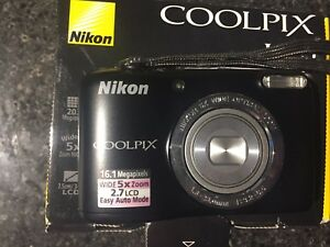 Nikon Coolpix L30 20.1 megapixels