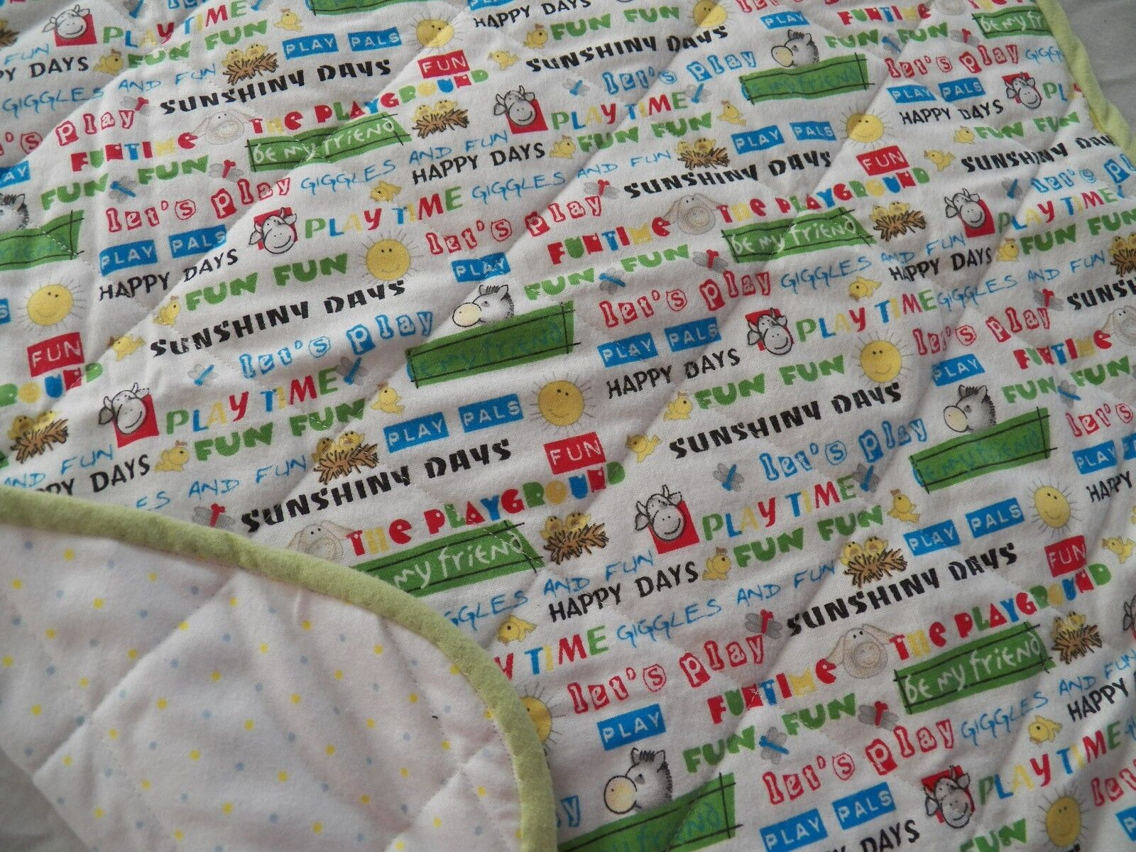 BABY CHANGING PAD Portable Diaper Travel Mat Cotton Washable Padded Handmade NEW 27