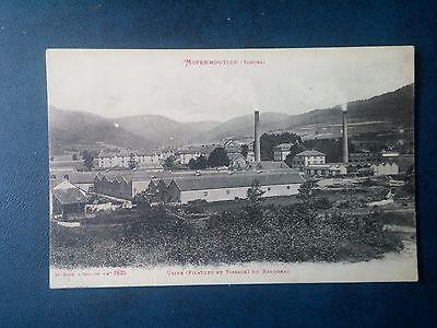 M110. Cpa. 88. Moyenmoutier. Usine Du Rabodeau. Filature et Tissage 1915